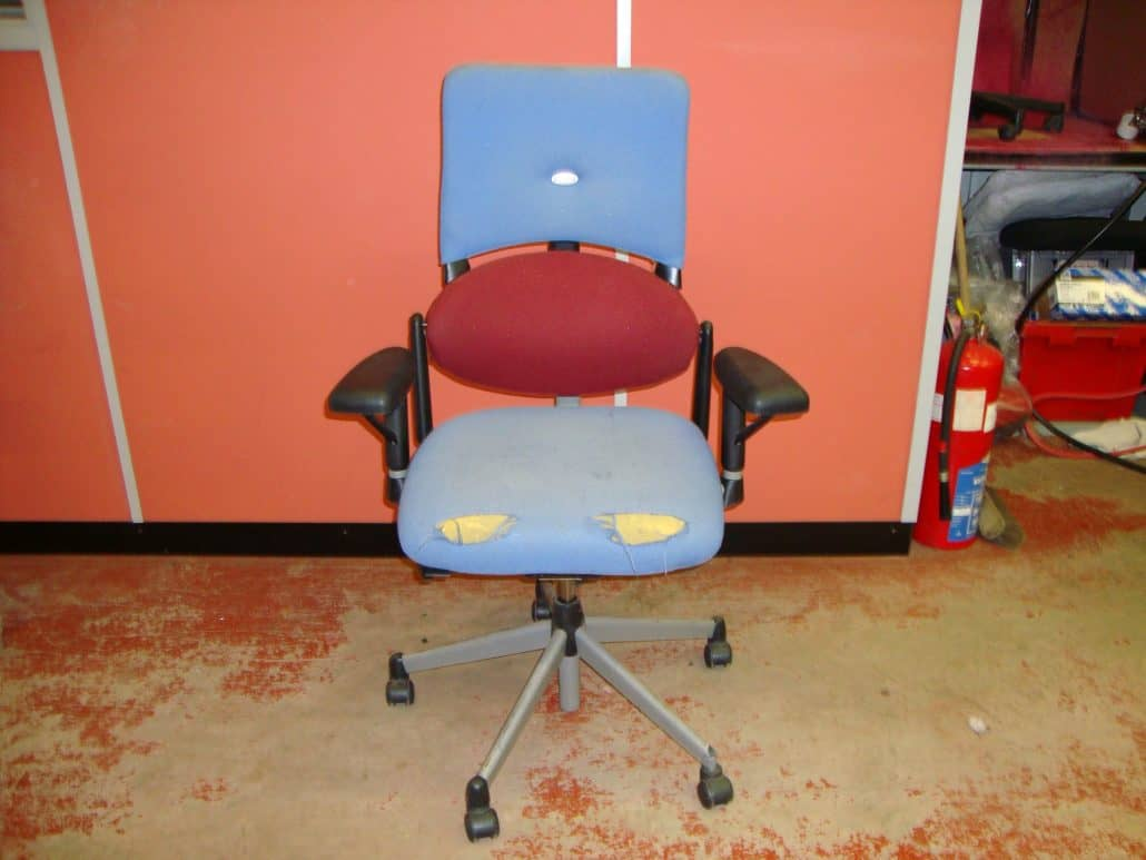 Office Chair Repairs - Before